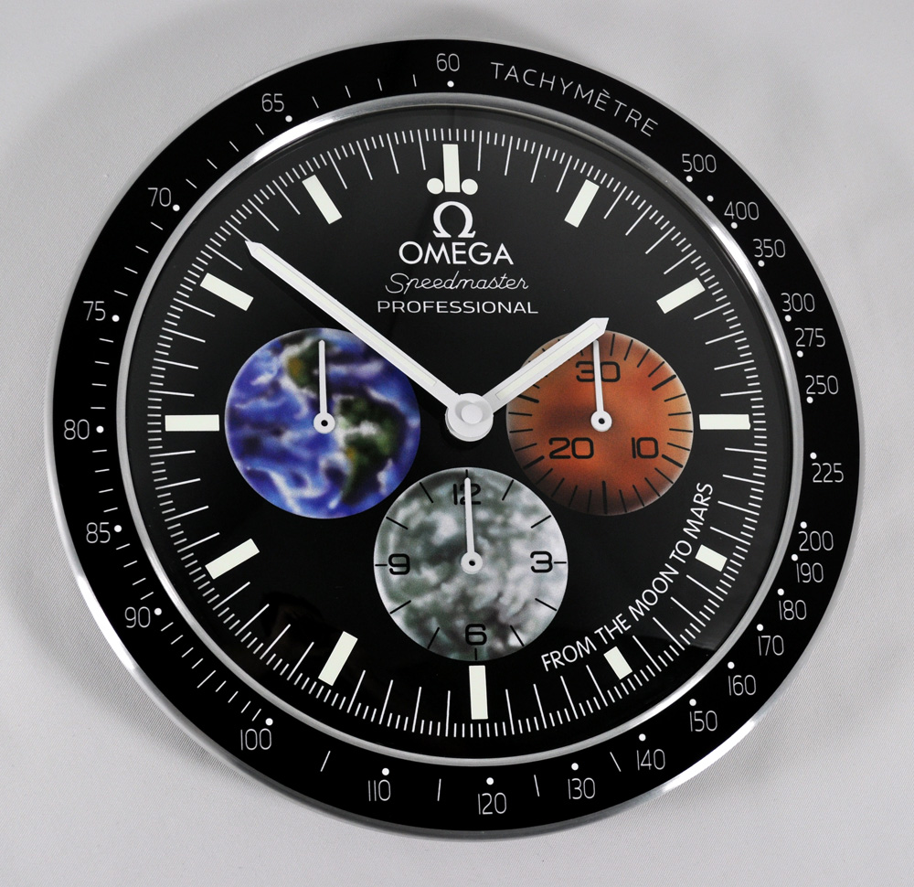 omega speedmaster from the moon to mars dealers showroom