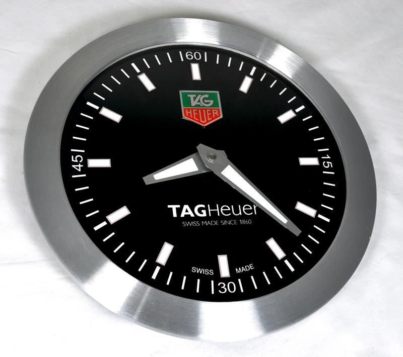 Tag Heuer Advertising Showroom Wall Clock Display Ebay